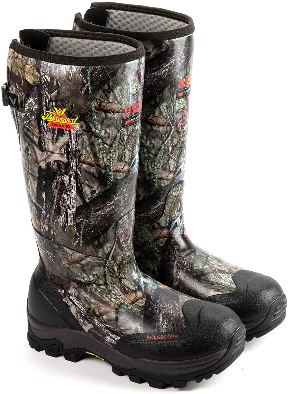 Thorogood Men's Infinity FD 17-inch Waterproof Rubber Work Boots
