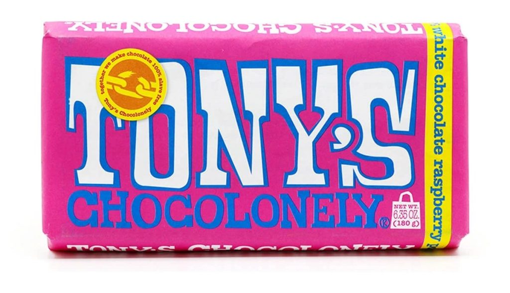 White Raspberry Popping Candy by Tony's Chocolonely
