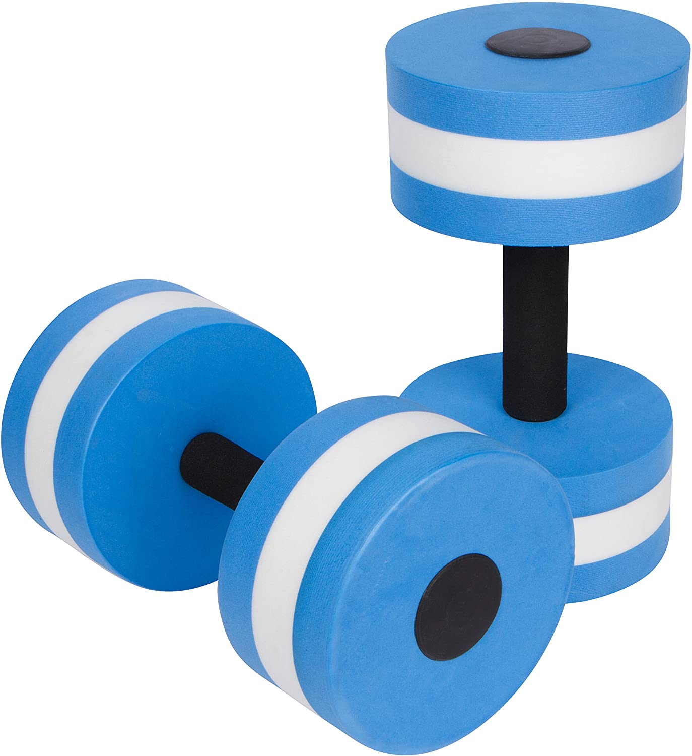 Trademark Innovations Aquatic Exercise Dumbbells, set of two, in blue, best water weights
