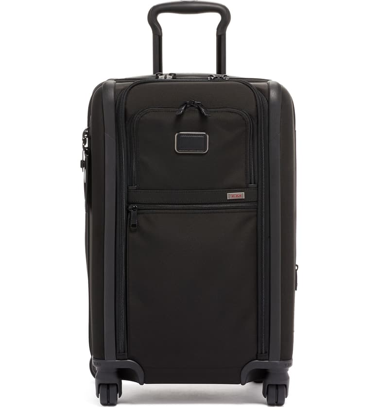 Tumi Alpha International Dual Access Expandable Carry-On Rolling Suitcase, best rolling suitcases