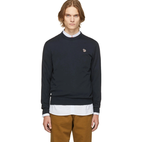 PS-by-Paul-Smith-Navy-Zebra-Logo-Sweater