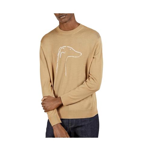 Ted Baker Greyhound Merino Wool Pullover