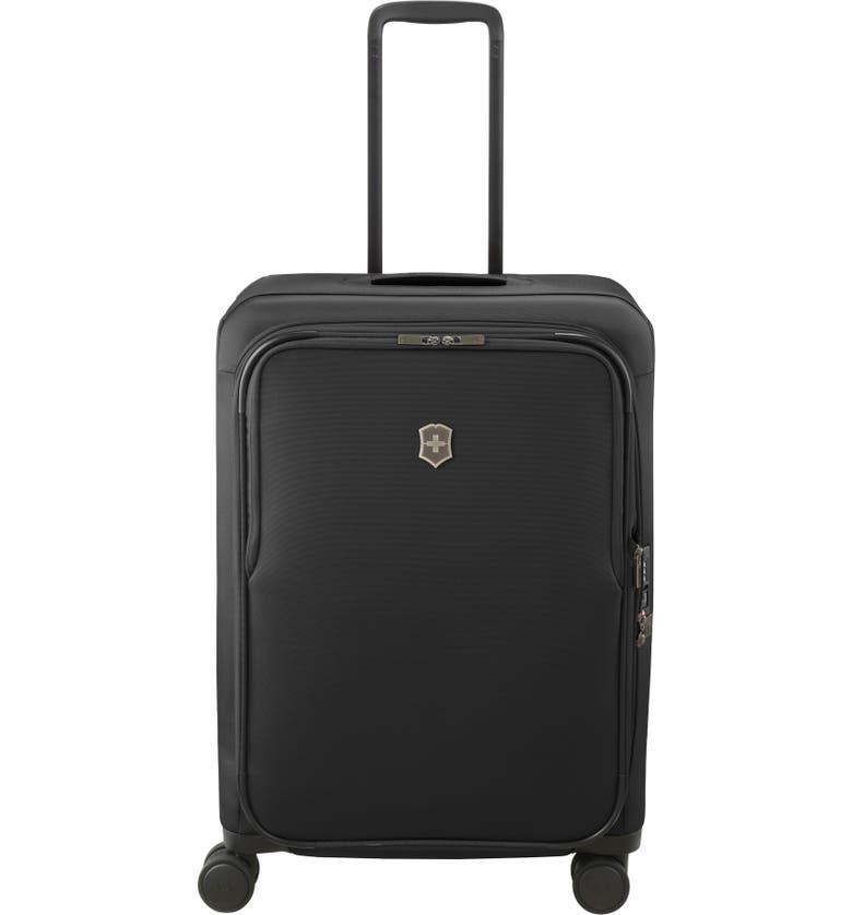 Victorinox Swiss Army Connex Medium 26-Inch Spinner Rolling Suitcase in black