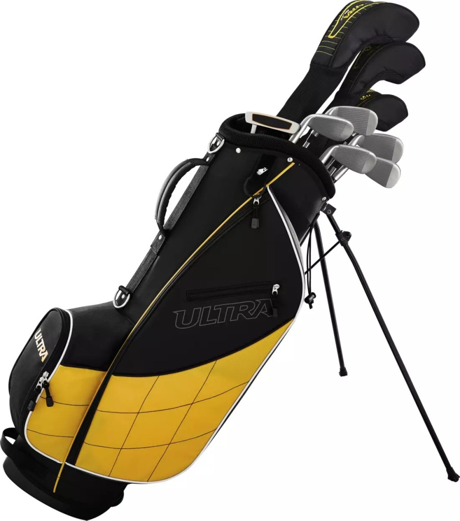 Wilson Ultra 13 Piece Complete Set, Best Golf Clubs for Beginners