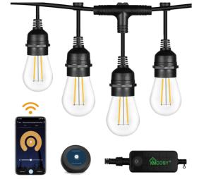 XMCOSY Smart Outdoor Smart Lights 2 Pack