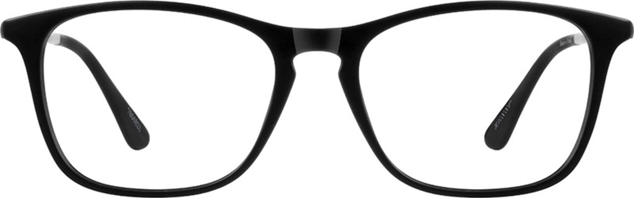 Zenni Optical Square Black Frames, blue light glasses for kids