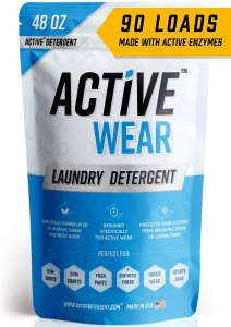 active wear laundry detergent, how to clean your face mask