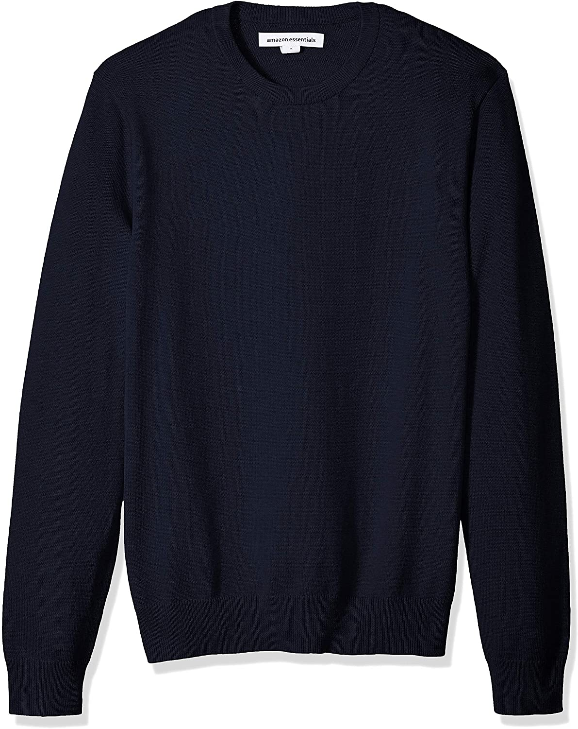 amazon-essentials-mens-crew-neck-sweater-in-navy