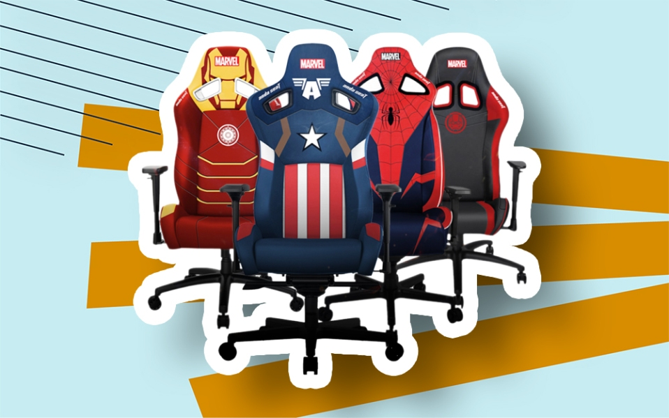 andaseat marvel gaming chairs release