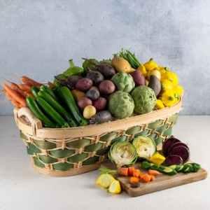 baby veggies gift basket, best gift baskets