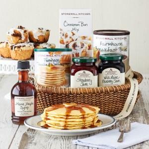 stonewall kitchen breakfast gift basket, best gift baskets