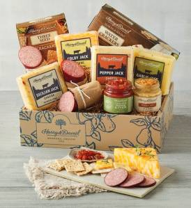 harry and david meat and cheese gift basket, best gift baskets