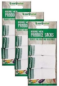 Earthwise reusable produce bags, reusable produce bags