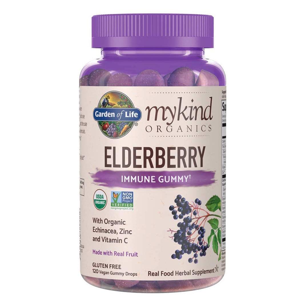 mykind Organics Elderberry Gummies