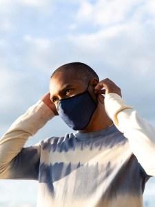buck mason face mask, comfortable face masks