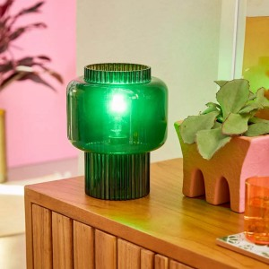 Urban Outfitters Arturo Glass Table Lamp, best desk lamps