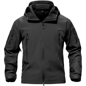 TACVASEN Special Ops Military Tactical Soft Shell Jacket Coat