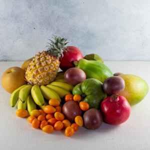 melissa's produce exotic fruit gift basket, best gift basket