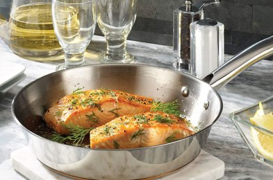 master professional-level cooking with these stainless steel cookware sets
