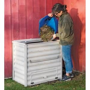 Gardener's Demeter Metal Compost Bin