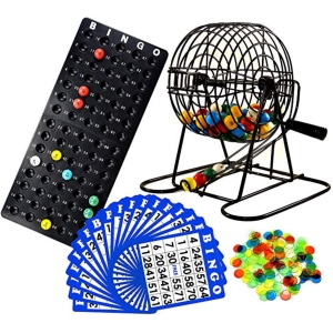Bingo game - best games to play on zoom