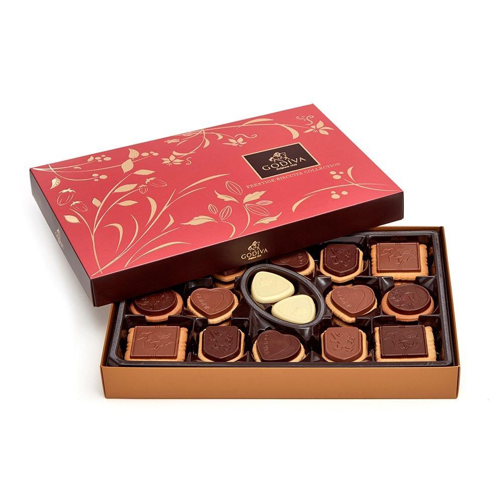 godiva chocolate cookie box