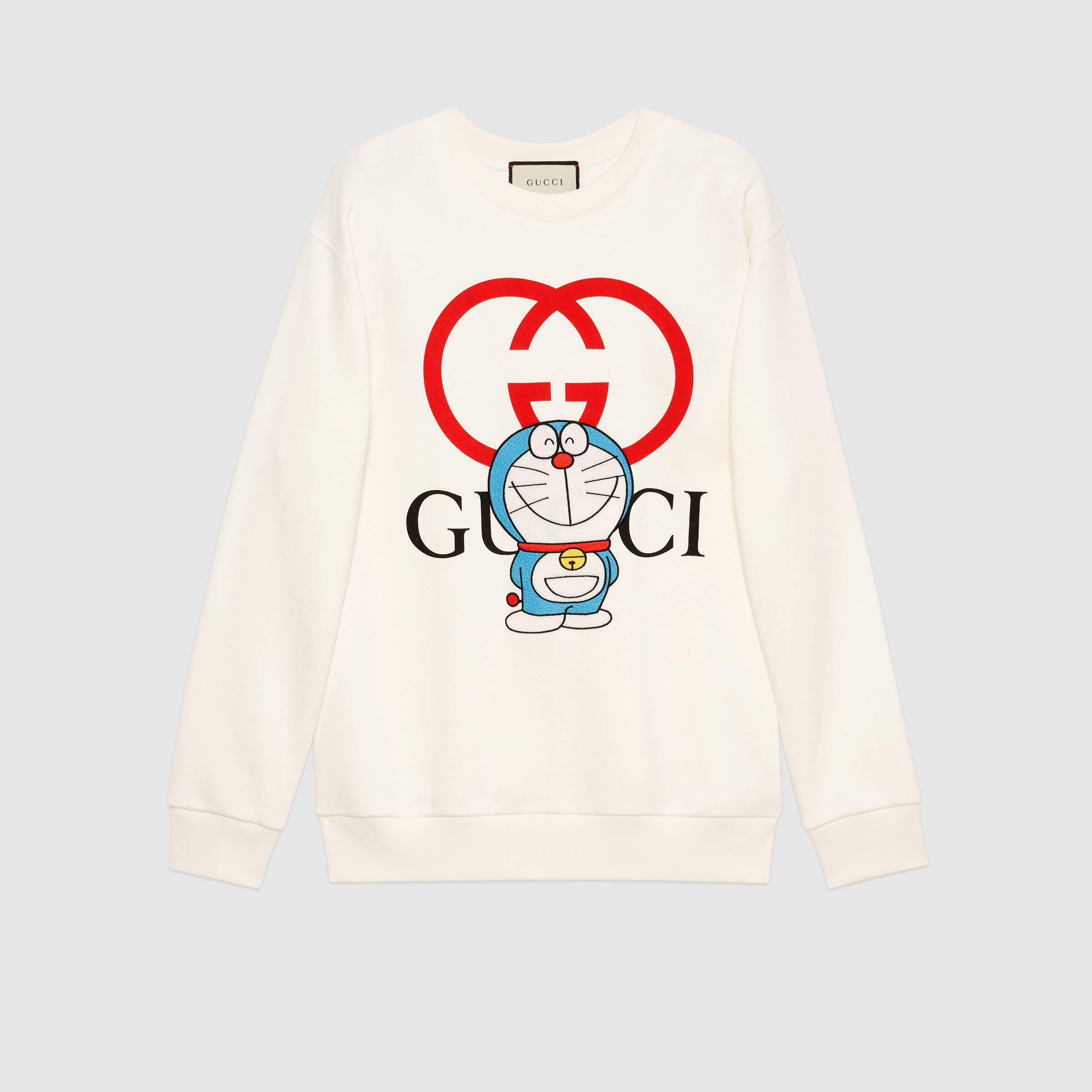 Gucci's limited edition Doraemon sweatshirt