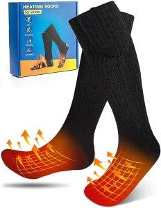 biondo heated socks, best foot warmers