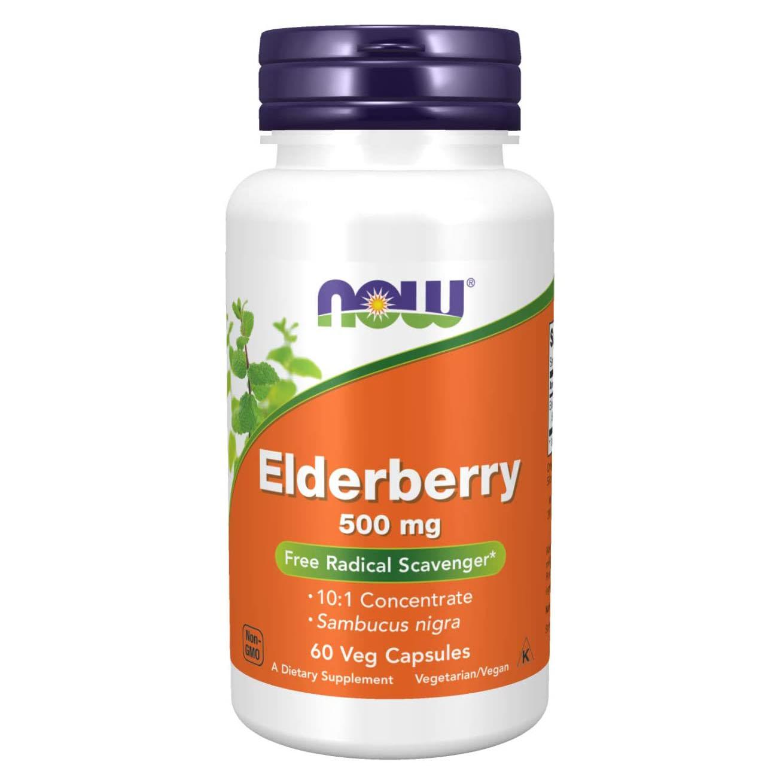 NOW Foods Elderberry Capsules