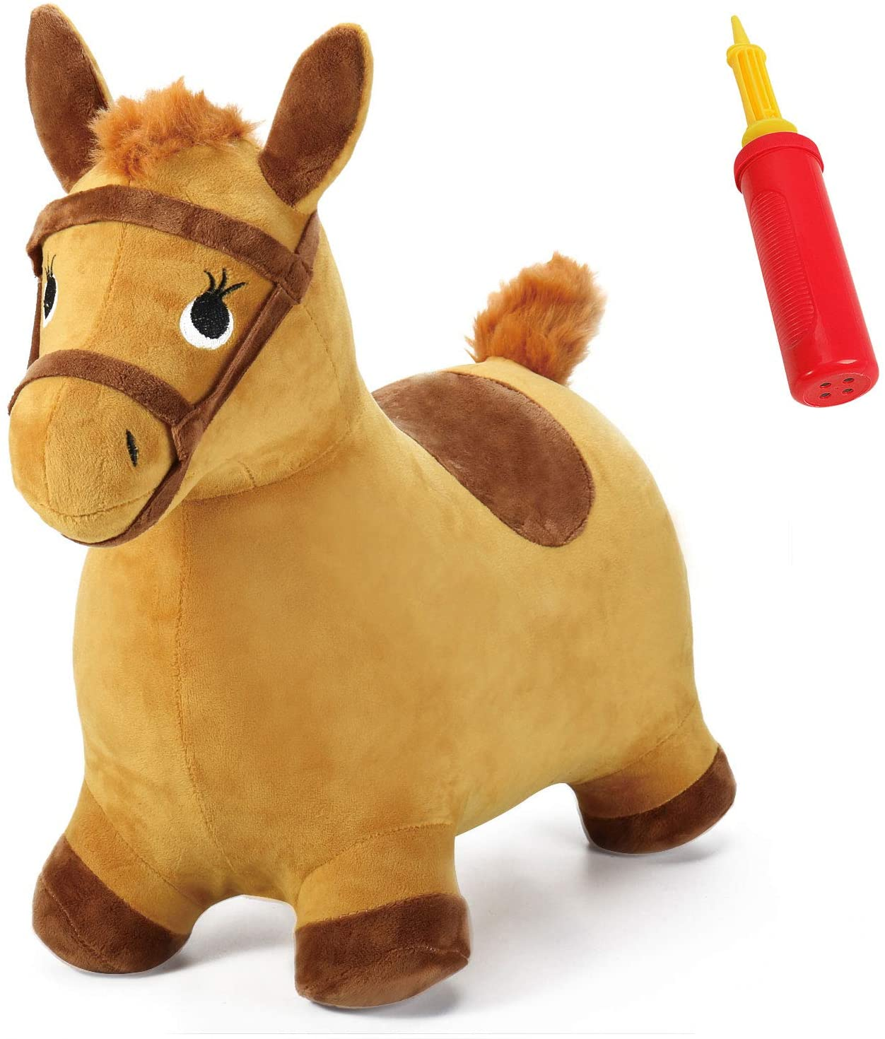 iPlay-iLearn-Bouncy-Pals-Yellow-Hopping-Horse