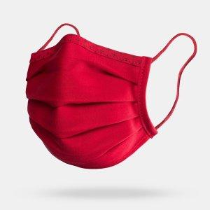 isko vital face masks (in red), comfortable face masks
