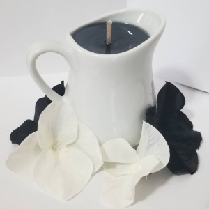 Nemesis Boutique White Pitcher Candle