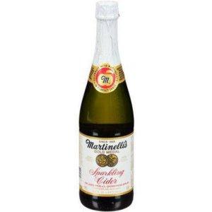 martinelli's sparkling cider, non-alcoholic wine