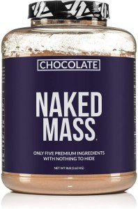 Chocolate Naked Mass Weight Gainer, best mass gainer supplements