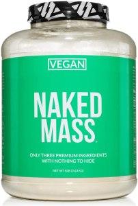 Naked Vegan Mass Gainer Protein Powder, mass gainer supplement
