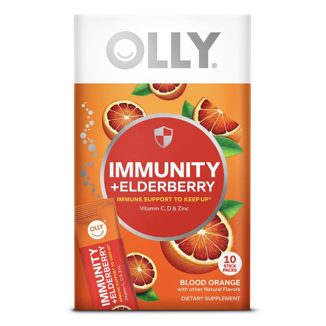 Immunity + Elderberry Blood Orange