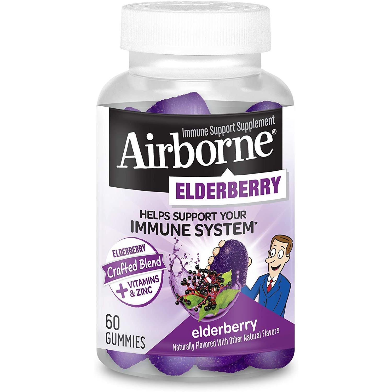 Airborne Elderberry Immune Support Gummies