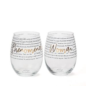 phenomenal woman wine glasses, gifts for her