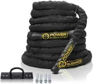 Power guidance battle ropes
