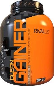 Rivalus Clean Gainer, mass gainer supplement