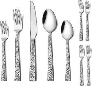 LIANYU 24-piece silverware set, date ideas