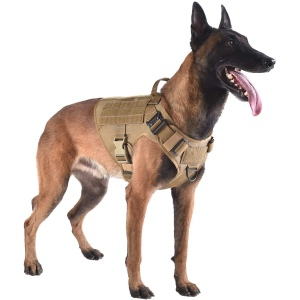 ICEFANG Tactical Dog Harness, best tactical dog vests