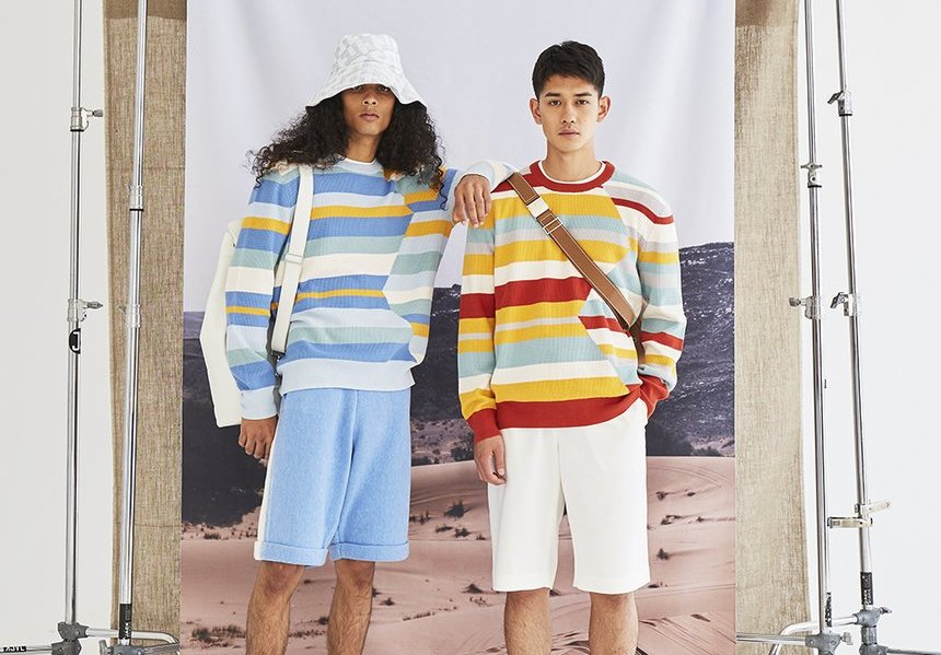victor-li-zig-zag-sweater unisex stripes
