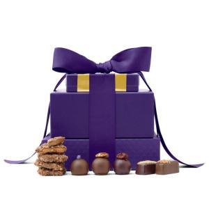 vosges chocolate tower, best gift baskets