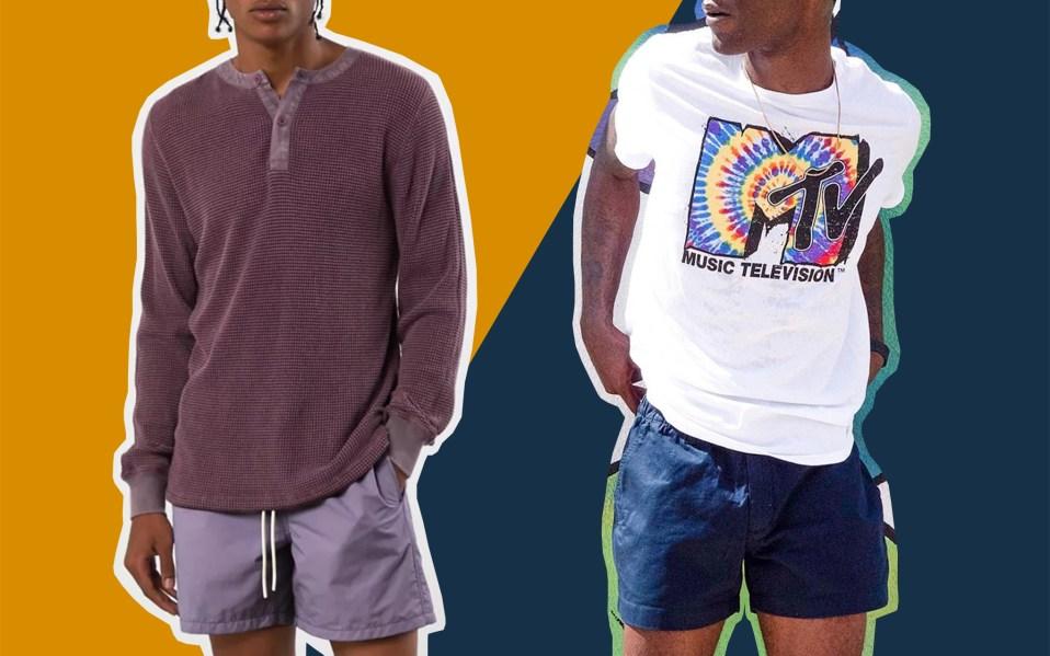 short shorts for men