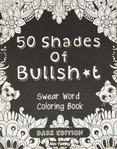 50 shades of BS funny coloring book