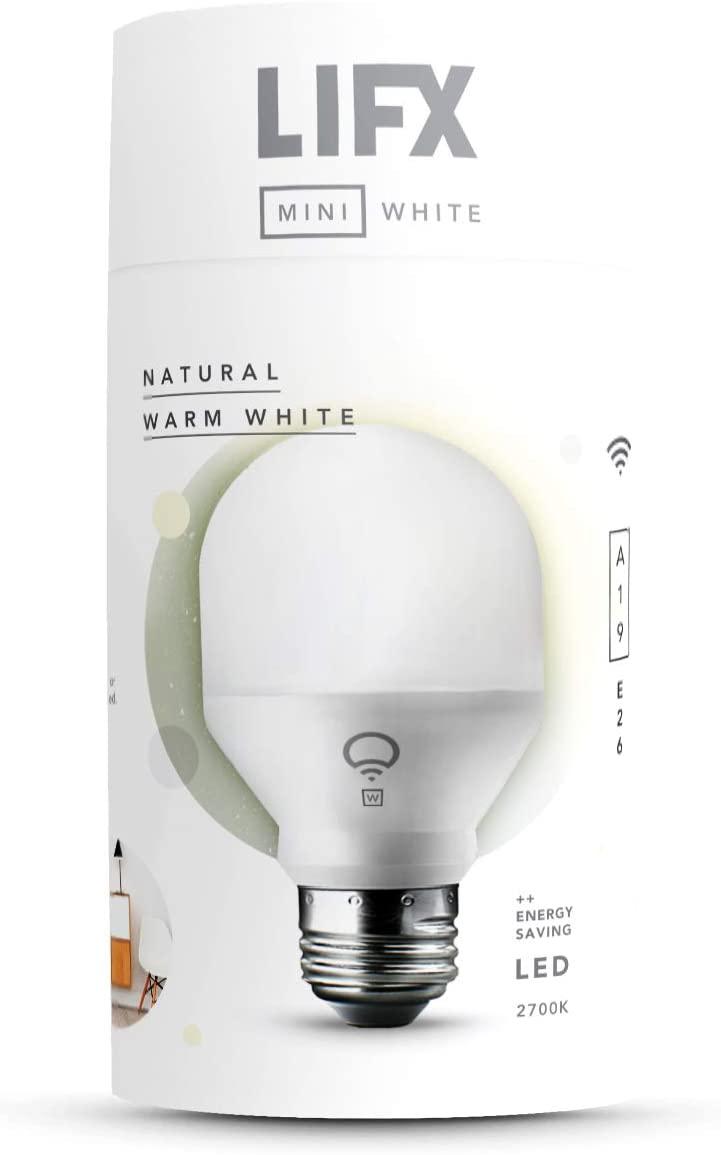 LIFX Mini White Smart LED Light Bulb
