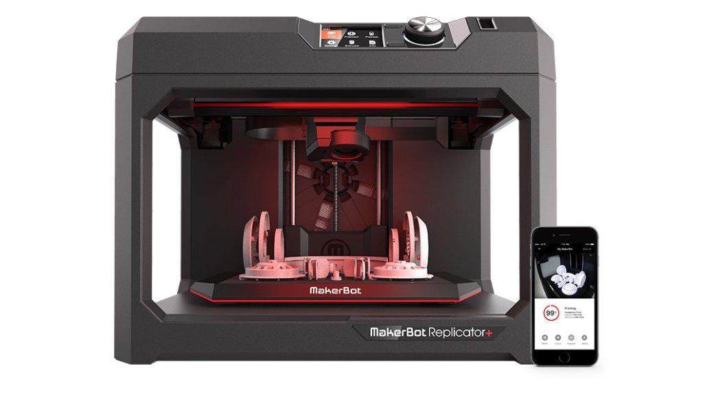 MakerBot Replicator+ FDM 3D Printer