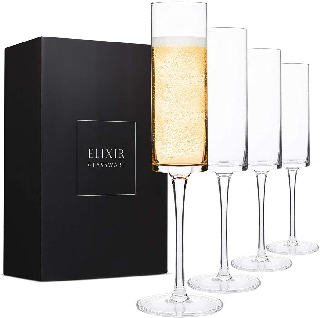 Elixir Champagne Flutes