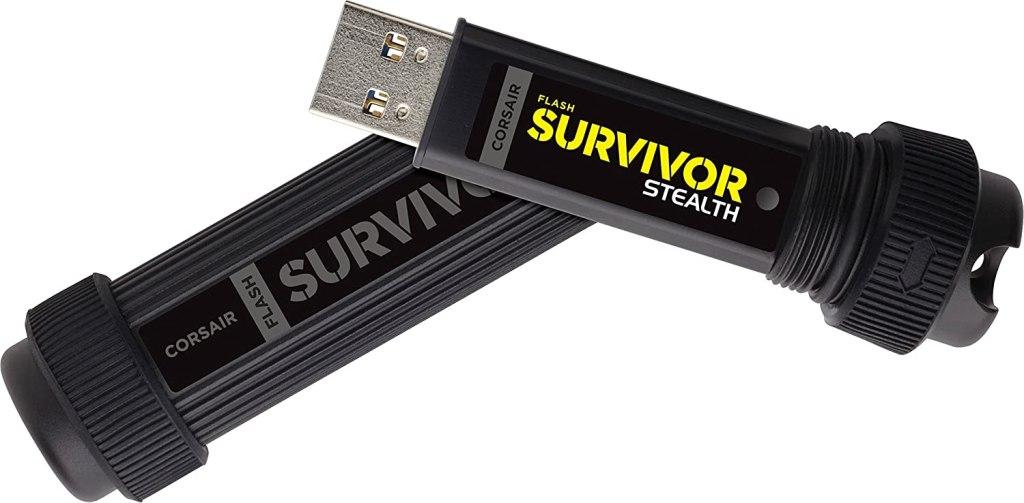corsair flash survivor stealth - Best USB Drives